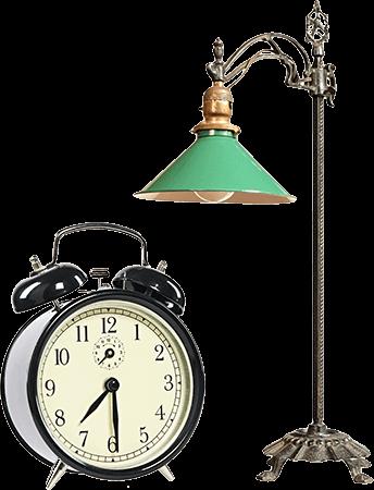 lamp-clock