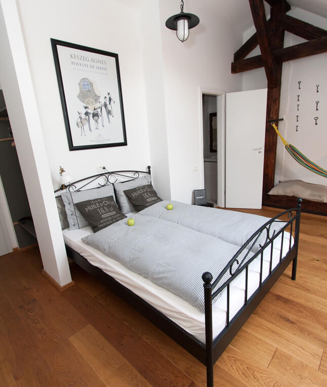 Interior for Double Room Attic Camino Cluj